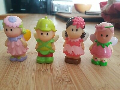 4 Fairy Figures. Mothercare Little People. • 1.30£