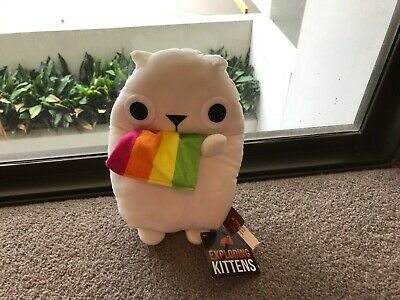 AU9.95 • Buy New Exploding Kittens 10  Plush Toy ~ Rainbow Ralphing Cat