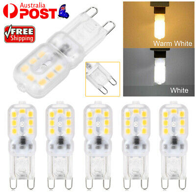 AU8.39 • Buy G9 LED 3W Dimmable Capsule Bulb Replace Halogen Light Lamps AC220-240V Warm/Cool