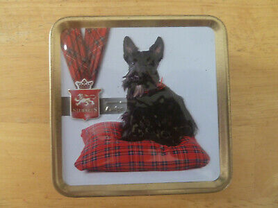 Scottish Terrier Collectable Sweet Tin - EMPTY (b) • 1.50£