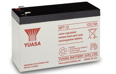 £17.79 • Buy Peg Perego Cam Am Traxter 12V 7Ah Ride-On Toys Replacement Yuasa NP7-12 Battery