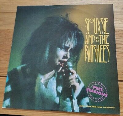 SIOUXSIE AND BANSHEES Vinyl Colored EP Peel Sessions 77-78 Ltd Ed 2500 NrM/VG+ • 19.95£