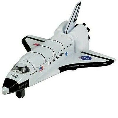 20cm Space Shuttle Rocket Nasa Diecast Model Toy Children Die Cast Fun Friction • 9.99£