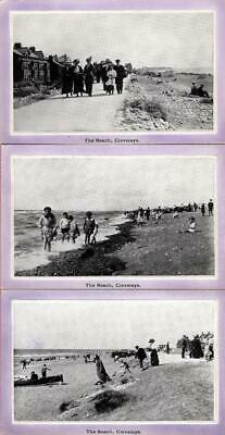 £1.50 • Buy 3 Cards The Beach Cleveleys Lancashire Embossed Frame