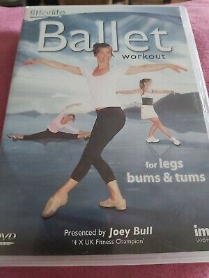 Ballet Workout - For Legs, Bums And Tums DVD (2010) Joey Bull Cert E Great Value • 2.99£