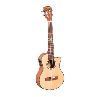 AU269.99 • Buy 1880 Ukulele Co. 200 Series Tenor Ukulele - Cutaway Electric Acoustic (Natural)