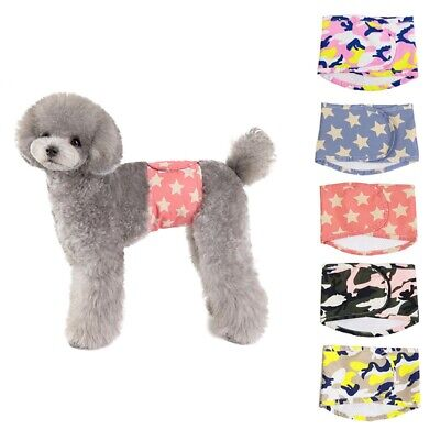 Reusable Cotton Wrap Belly Band Waterproof For Male Dogs Physiological Pants • 4.59£