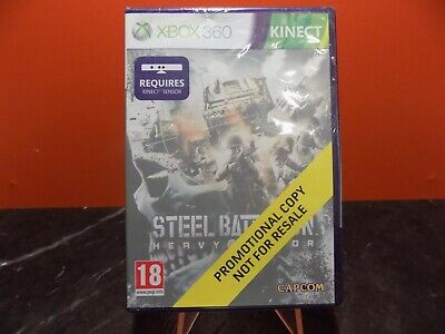 £4.99 • Buy Steel Battalion Heavy Armor Xbox 360 Promotional PROMO Copy NEW SEALED PAL MM060