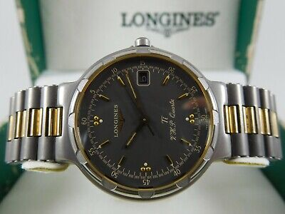 $ CDN360 • Buy LONGINES CONQUEST V.H.P. TITANIUM Ref. 4981 Cal. L174.2 Swiss Vintage Watch