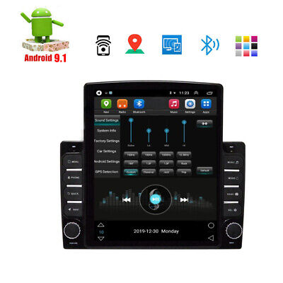 $ CDN367.78 • Buy 9.7'' 1DIN  Android 9.1 Car Stereo Radio GPS MP5 Multimedia Player Wifi Hotspot