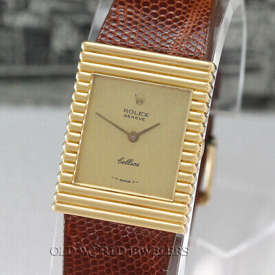 $ CDN5295.18 • Buy Rolex Vintage Cellini 4012 Champagne Dial 18K Ribbed Case Box Papers Circa 1976