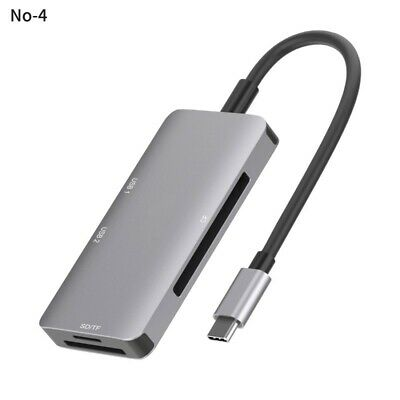AU29.99 • Buy Dual USB 3.0 Type C Hub Adapter CF/TF SD-Card Reader Dongle For MacBook Pro