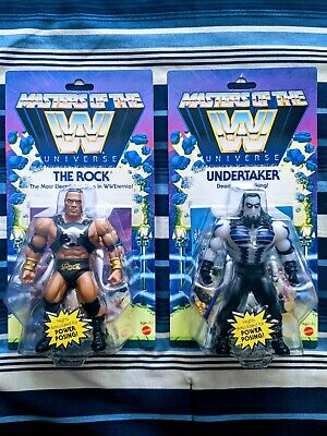 $64.95 • Buy Wwe Masters Of The Universe The Undertaker And The Rock