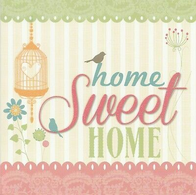New Home Card Sparkly - Good Quality - Female Male Friend Relative • 1.99£