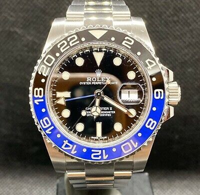 $ CDN13616.49 • Buy Rolex GMT-Master II Batman Men Watch 116710BLNR Year 2018. READ THE DESCRIPTION