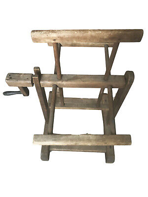 Vintage Antique Primitive Yarn Winder Hand Made  Working Condition • 92.18£