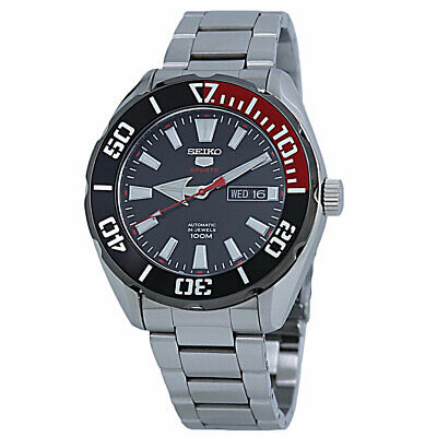 $ CDN280.37 • Buy Seiko 5 Automatic Men's Black Dial Stainless Steel Watch SRPC57