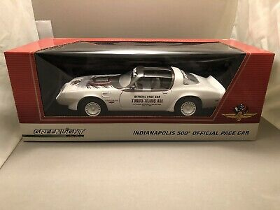 $299.99 • Buy 1/18 Greenlight 1980 Pontiac Turbo Trans Am Official Indy 500 Pace Car New Rare!