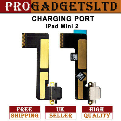 £3.45 • Buy For IPad Mini 2 Replacement Charging Port Dock Charge Flex Cable Black / White