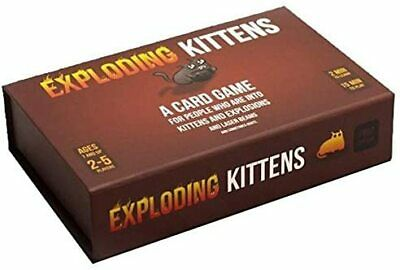 AU47.79 • Buy Exploding Kittens Exploding Kittens First Edition Meow Box Party Card Games