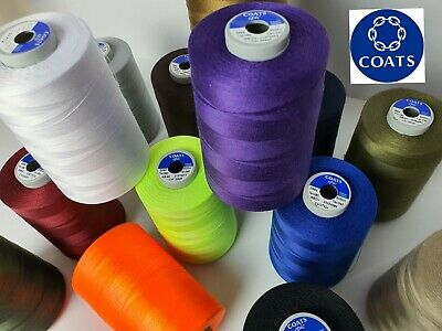 £10.99 • Buy COATS EPIC TKT80 5000m Cone, POLYESTER  CORESPUN SUPERIOR QUALITY SEWING THREAD