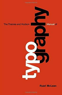 Typography (The Thames & Hudson Manuals) By Ruari McLean • 4.69£