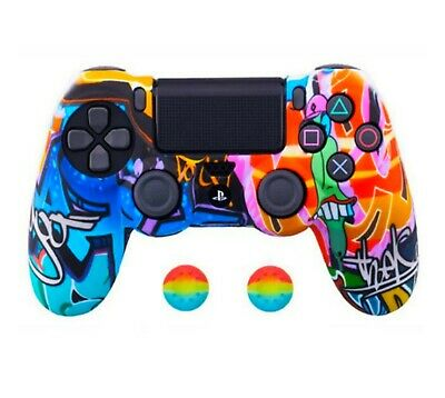 AU11.95 • Buy Soft Silicone Gel Rubber Case Cover For SONY Playstation 4 PS4 Controller Slim