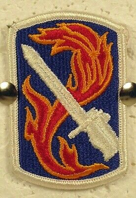 US Army 198th Infantry Brigade Patch Insignia Badge Full Color  • 3.92£