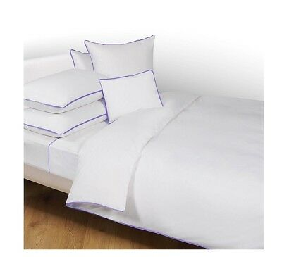AU259 • Buy NEW W Tags Yves Delorme Queen Size Duvet Cover Amity Bleu 210x210 Made In France