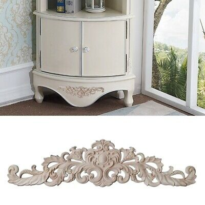 AU10.05 • Buy Decorative Wooden Mouldings Furniture Drawer Bottom Appliques Onlays Unpainted