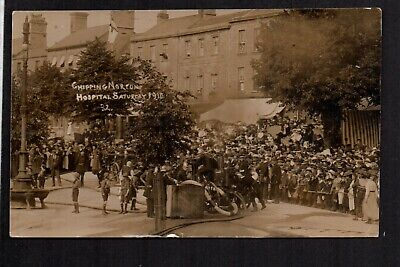 £20 • Buy Chipping Norton - Hospital Saturday 1910 - Real Photographic Postcard