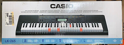 $149.99 • Buy Casio Lighted Keyboard With Application Integration LK265 - Black ... B3