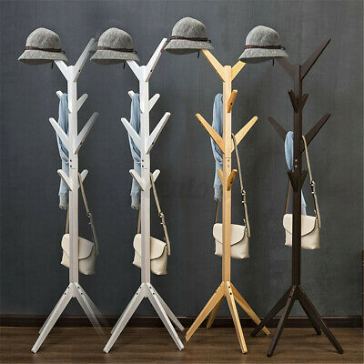 AU26.99 • Buy 8 Hook Garment Coat Hat Rack Tree Hanger Clothes Umbrella Storage Stand Holder