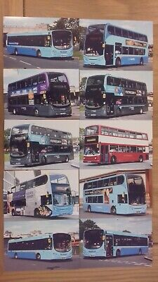 A Joblot Of 10 National Express Travel Coventry Bus Photographs (lot 2) • 5£