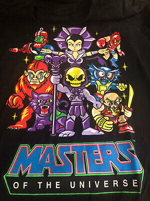 $15 • Buy Black Masters Of The Universe Size XL T-shirt Villains Of He-man Thundercats