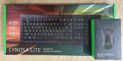 AU175 • Buy Razer Cynosa Lite Essential Gaming Keyboard & Razer Deathadder Mouse