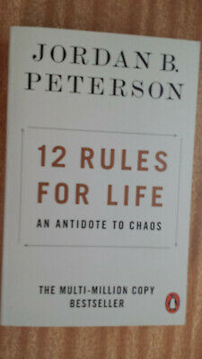 AU11.95 • Buy Jordan B. Peterson 12 Rules For Life An Antidote To Chaos Paperback 2019 Penguin
