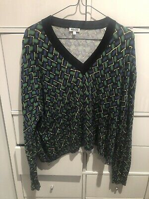 AU39 • Buy Kenzo Jumper Sweater Slouchy V Neck Knit S 6 8