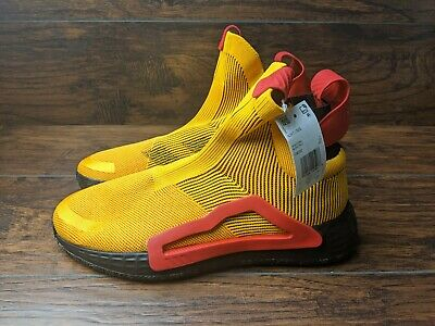 $ CDN119.66 • Buy Adidas N3xt L3v3l Men's Size 11.5 Laceless Basketball Shoes Gold Red F36292