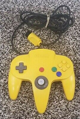 $ CDN39.89 • Buy Nintendo 64 N64 Controller - Yellow AUTHENTIC | ORIGINAL | OFFICIAL | TESTED!