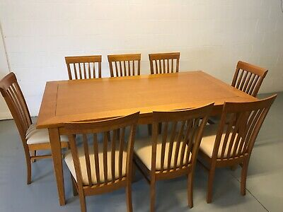 AU145 • Buy 9 Piece Dining Table, Large Table With 8 Chairs