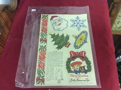 $ CDN4 • Buy Vintage Buster Brown And Tige Christmas Ornaments Uncut 1943?