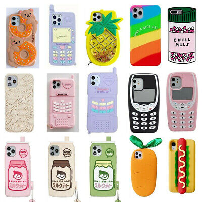 AU5.14 • Buy Case For IPhone 11 Pro Max 6 7 8 Plus X Cute 3D Cartoon Soft Silicone Kids Cover