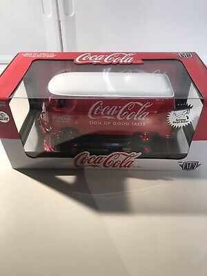 $ CDN80 • Buy M2 Machines 1:24 1960 VW Delivery Van Coke Chase 1 Of 500