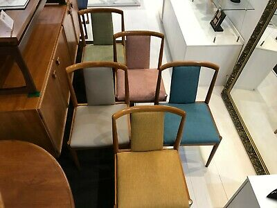 AU3100 • Buy PARKER T/Back Dining Chairs - MID-CENTURY- VINTAGE – FULLY RESTORED