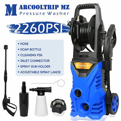 £85.99 • Buy Electric Pressure Washer High Power Jet 2260 PSI/156 BAR Water Wash Patio Car
