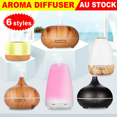 AU29.95 • Buy Aroma Essential Oil Diffuser Ultrasonic Aromatherapy Air Humidifier LED Purifier