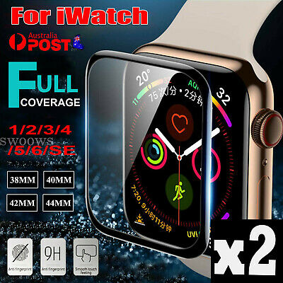 AU4.95 • Buy For Apple Watch IWatch 6/5/4/3/2/SE Tempered Glass Screen Protector 38/42/4044mm