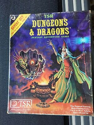 AU35 • Buy Dungeons & Dragons TSR Expert Rulebook 2 Box--wrong Bottom. Dated 1980/81 #2015