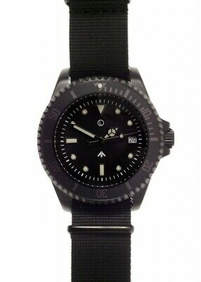 $ CDN285.09 • Buy MWC 1000ft WR Military Divers Watch In Black PVD Steel Case (24 Jewel Auto)